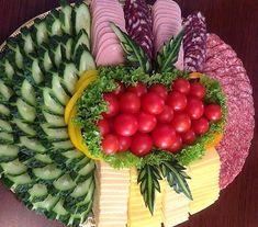 Сырная тарелка: фото, состав, оформление Food Platters, Plates, Vegetables, Cheese Platters, Art, Licence Plates, Plate, Dish, Vegetable Recipes