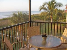 Sanibel Island condo rental - View from your screened lanai