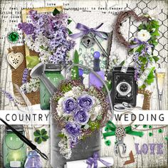 INSTANT DOWNLOAD Country Wedding - Part 3