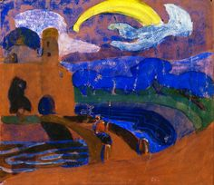 Wassilly Kandinsky, The Comet, 1900