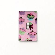Find Pink light switch covers on Zazzle. Check out our wonderful designs and spruce up your home décor with our wall switch plates! Polka Dot Cupcakes, Light Switches, Custom Lighting, Light Switch Covers, Pink Polka Dots, Cute Pink, Kitchen Gadgets, Light Up, Colorful Backgrounds