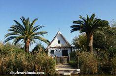 Barraca en la isla de el Palmar, Valencia.