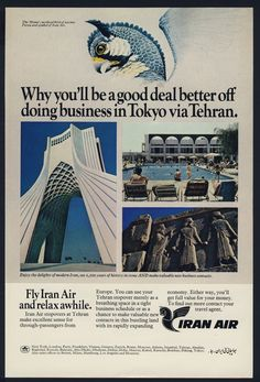 Iran Air Ad