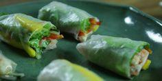 Wrap (Rolinho) de Legumes com Camarão