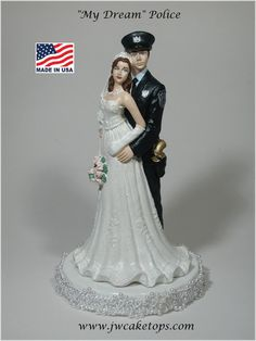 Hey, I found this really awesome Etsy listing at https://www.etsy.com/listing/166127599/policeman-law-enforcement-police-wedding
