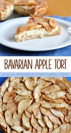 A fancy shmancy name for an absolutely stunning and delici… Bavarian Apple Torte. A fancy shmancy name Apple Cake Recipes, Fruit Recipes, Fall Recipes, Sweet Recipes, Dessert Recipes, Cooking Recipes, Breakfast Recipes, Recipies, Fancy Desserts