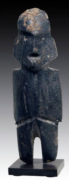 Mezcala M-6 Type Stone Axe God