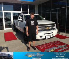 #HappyAnniversary to Josh Neill on your 2013 #Chevrolet #Silverado 1500 from Austin  Morris at Crossroads Chevrolet Cadillac!