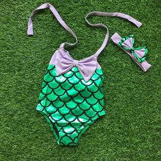 Mermaid One Piece Swim suit