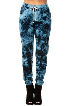 b4d5f6f309 Blue Acid Denim Jogger Pants   Cicihot Pants Online Store  sexy pants