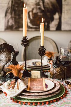 Thanksgiving Tabletop // #design #fall