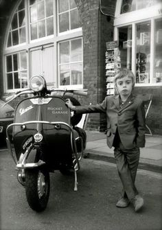 Young Mods - this little dude is too cool for school for sure!! Love him!