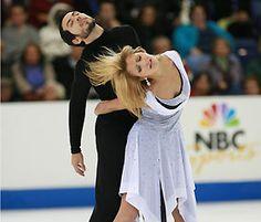 American ice dancing team Tanith Belbin and Ben Agosto take gold at 2007 Skate America.