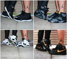 This is so me and the boo...minus that lame ass leg tatt he wouldn't do that