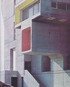 Olivetti Complex Tokyo Japan. Architect: Kenzo Tange Via: Fuckyeahbrutalism's…