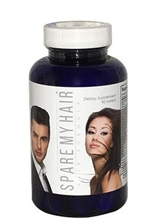 Spare My Hair Vitamins  for Hair Growth Powerful Supplement with Biotin and Vitamin E Helps Prevent Hair Loss Thinning and Baldness Hair Loss Vitamins for Men and Women * You can get additional details at the image link.  This link participates in Amazon Service LLC Associates Program, a program designed to let participant earn advertising fees by advertising and linking to Amazon.com.