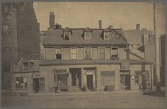 The Sheaffe House, corner of Essex and Columbia Streets by Boston Public Library, via Flickr