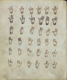 Finger-counting (Vatican, pal. lat. 1449, 9th c.)