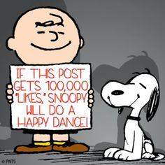 Help snoopy do the Happy Dance!