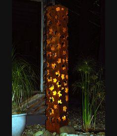 maple leaf light sculpture