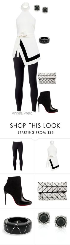 """Untitled #759"" by angela-vitello on Polyvore featuring Jockey, Finders Keepers, Christian Louboutin, Alexis Bittar and Mark Broumand"