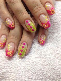 Fun For Summer by Notcleanenuf - Nail Art Gallery nailartgallery.nailsmag.com by Nails Magazine www.nailsmag.com #nailart