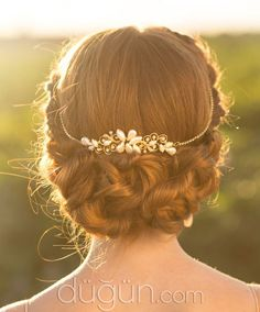 Take Grandma's broken tiara and have it made into something like this?