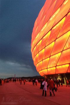 Visiting Allianz Arena Munich – Football match Bayern Munich
