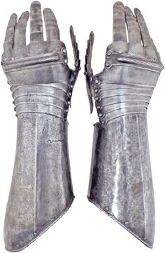 These gauntlets comprised part of cuirassier's armor of the Thirty Years War…