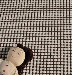 Button Line White