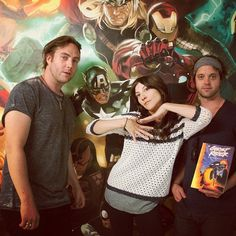 Check out the band, Nico Vega, as they visit HQ! Beyond Words, Music Lovers, Musicals, Geek Stuff, Marvel, Couple Photos, Fictional Characters, Check, Therapy