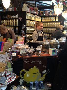 """Our Tea Stall at """"Torvehallerne"""" in Copenhagen!"""