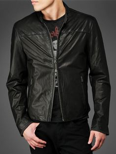 Captivating Appeal Leather Men Motorcycle Jackets