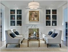 Create Magic with Four Chairs in Living Room !