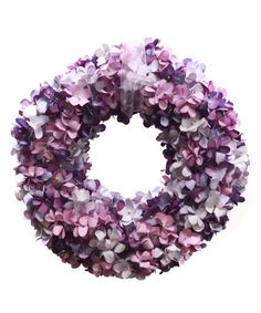 See if I can find flowers at Cape May Wicker? Hydrangrea Wreath | something special every day (sold on Zulily)