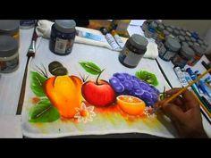 vídeo 12 pintura de pano de prato a série,quem quiser trocar divulgação, entrar em contato
