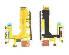 For Sony Xperia Z2 L50T L50U-4G Power Volume Buttons Microphone MIC flex cable Repair Part SN-081