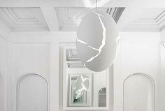 broken egg by ingo maurer