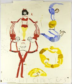 "Rose Wylie ""night circus"""