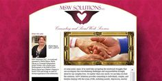 Website for MSW Solutions in Coshocton, Ohio. www.mswsolutions.org