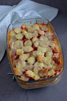 Polish Recipes, Hawaiian Pizza, Cauliflower, Food And Drink, Potatoes, Tasty, Vegetables, Cooking, Ethnic Recipes