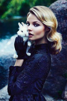 Little bunny foo foo. We need a shoot like this. Who has a bunny