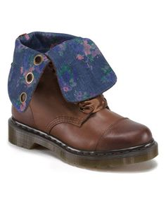 Dr.Marten. $89.99. Interesting this Dark Brown Aimilie Leather Boot on #zulily! #zulilyfinds