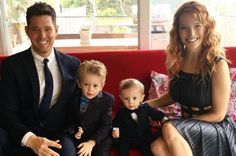 Michael Buble reveals he wants to have more children with wife Luisana Lopilato - Mirror Online