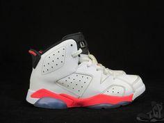 Vtg OG 2014 Nike Air J#tcpkickzordan VI 6 s sz 1y III Retro Infrared Carmine White Black #Jordan #Athletic