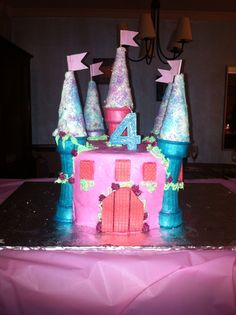 Ruby S 4th Birthday Princess Castle Party On Pinterest