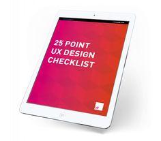 UXChecklist - Laith Wallace - UX Designer & Brand Strategist