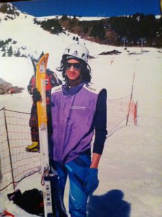 Kilian Jornet. 2000. The 1st skimo race in La Molina! Times changes, looks changes, style and motivation keep the same