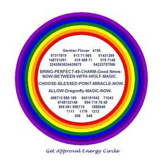 GET APPROVAL -  ENERGY CIRCLE   This EC is very useful to bring Good News when we are awaiting a favorable result.  Use in many situations like :  - To get offer letter after interview. - To get admission after applying in Educational institutes. - To get Approval of our Quotation for a tender. - To get acceptance of our proposal. - Our Deal to get approved. - To get selected in Sports selections  And so on.....  Numbers from Blue iris Numbers Database :  4156 - Homeopathic vibration code…