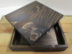 Wood Cigar Box Gift Dad Brother Grandpa by DivineRusticCreation, $20.00